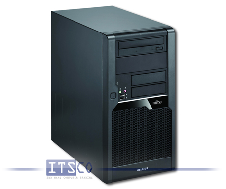 Workstation Fujitsu Celsius W280 Intel Core i7-860 vPro 4x 2.8GHz