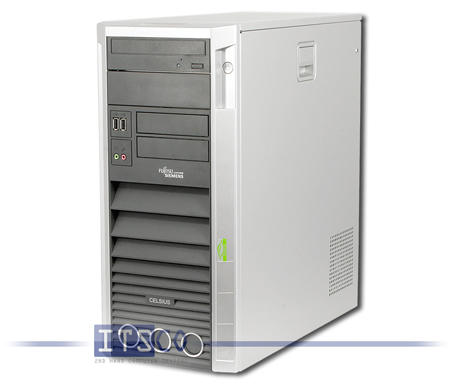 Workstation Fujitsu Siemens Celsius W350 Core 2 Duo E6300 2x 1.86GHz