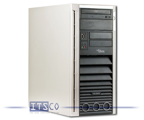 Workstation Fujitsu Siemens Celsius W360 Intel Core 2 Duo E8300 vPro 2x 2.83GHz