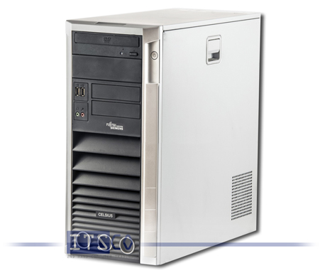 Workstation Fujitsu Siemens Celsius W350 Intel Core 2 Duo E6600 2x 2.4GHz