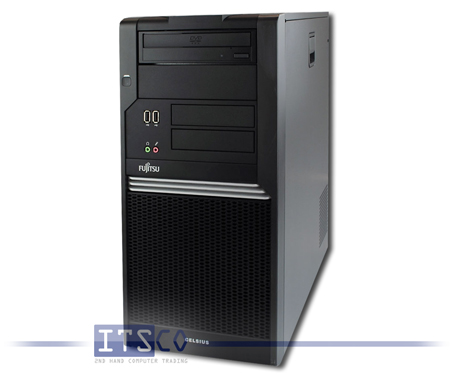 Workstation Fujitsu Celsius W370 Intel Core 2 Duo E8500 vPro 2x 3.16GHz