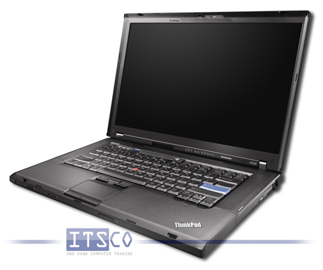 Notebook IBM ThinkPad W500 Intel Core 2 Duo P9500 2x 2.53GHz Centrino 2 vPro 4061