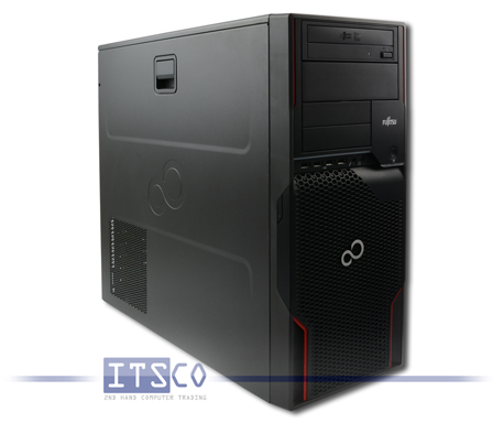 Workstation Fujitsu Celsius W510 Intel Quad-Core Xeon E3-1235 4x 3.2GHz