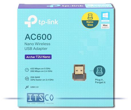 WLAN AC Nano-USB Adapter TP-Link Archer T2U Nano