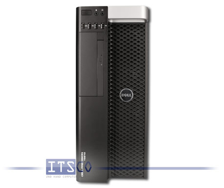 Workstation Dell Precision T5610 2x Intel Eight-Core Xeon E5-2650 v2 8x 2.6GHz