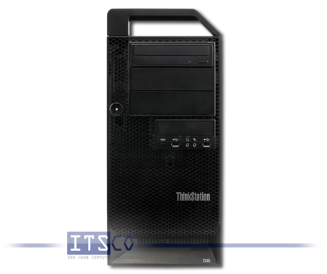 Workstation Lenovo ThinkStation D20 Intel Quad-Core Xeon E5620 4x 2.4GHz 4158