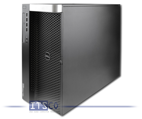 Workstation Dell Precision T7610 Intel Ten-Core Xeon E5-2670 v2 10x 2.50GHz