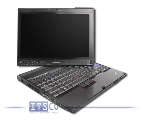 Tablet-PC Lenovo ThinkPad X200 Tablet Intel Core 2 Duo SL9400 2x 1.86GHz Centrino 2 vPro 7453