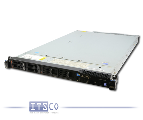 Server IBM System x3550 M3 Intel Quad-Core Xeon E5620 4x 2.4GHz 7944