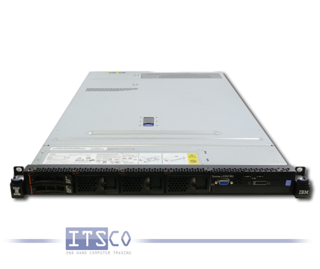Server IBM System x3550 M4 Intel Eight-Core Xeon E5-2650 v2 8x 2.6GHz 7914