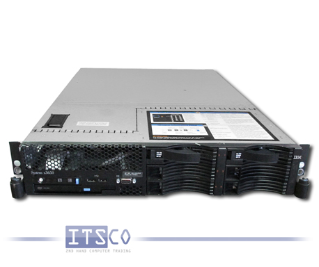 Server IBM System x3650 Intel Quad-Core Xeon E5430 4x 2.66GHz 7979-BAA
