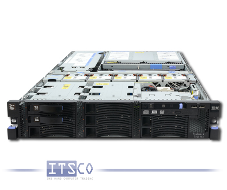 Server IBM System x3755 M3 4x AMD 16-Core Opteron 6262 HE 16x 1.6GHz 7164