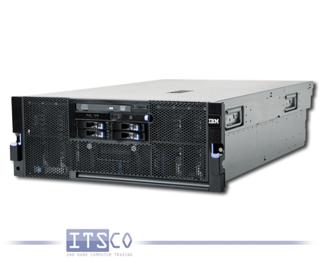 Server IBM System x3850 M2 4x Intel Quad-Core Xeon E7330 4x 2.4GHz 7141