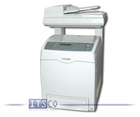 Laserdrucker Lexmark X560n Drucken, Kopieren, Scannen, Faxen