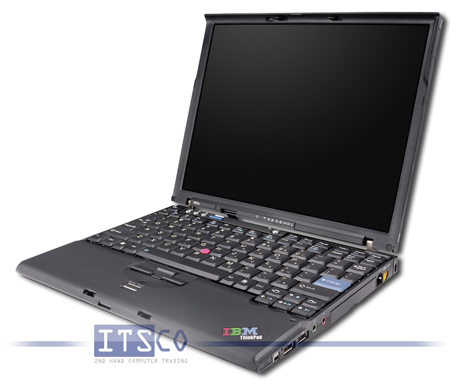 Notebook IBM ThinkPad X60s Intel Core Duo L2400 2x 1.66GHz Centrino Duo 1702
