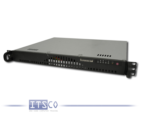 Server Supermicro X7SBi Intel Core 2 Duo E8400 2x 3GHz