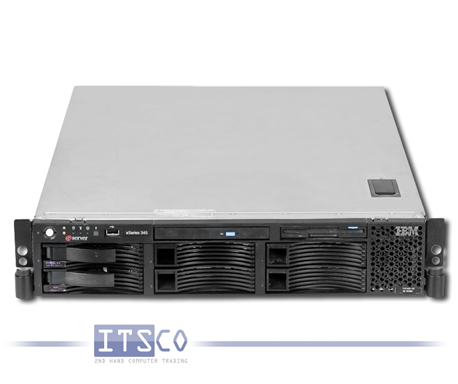 SERVER IBM XSERIES 345 2xXEON 2.4GHz 2GB 72GB CD