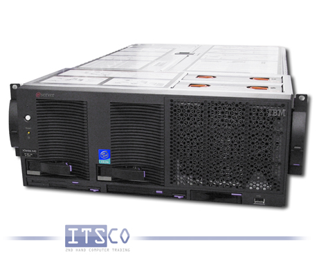 SERVER IBM XSERIES 445 mit 4 x Xeon MP 2.8 GHz