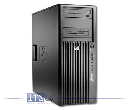 Workstation HP Z200 (KK611EA) mit Hersteller Restgarantie bis Januar 2013