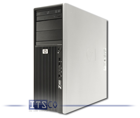 Workstation HP Z400 6-DIMM Intel Quad-Core Xeon W3520 4x 2.66GHz