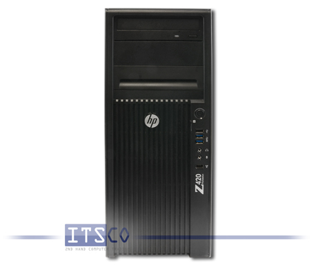 Workstation HP Z420 8-DIMM Intel Six-Core Xeon E5-1650 v2 6x 3.5GHz