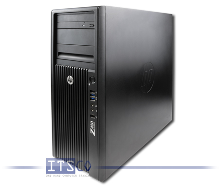 Workstation HP Z420 Intel Six-Core Xeon E5-1660 v2 6x 3.7GHz
