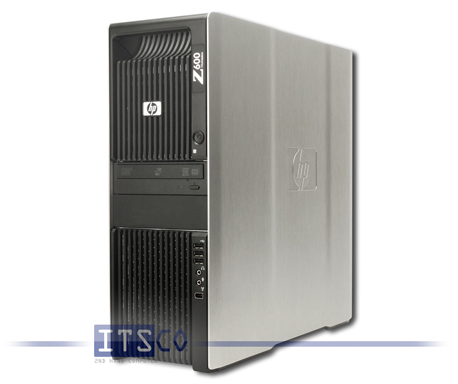 Workstation HP Z600 Intel 2x Quad-Core Xeon E5504 4x 2GHz
