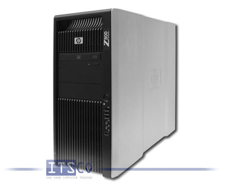 Workstation HP Z800 2x Intel Quad-Core Xeon E5640 4x 2.66GHz