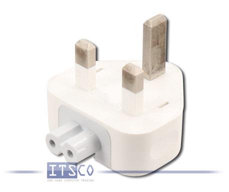 10x Steckeraufsatz Duckhead UK-Stecker 3-Pin Power Plug Adapter 2.5A für Apple-Netzteile