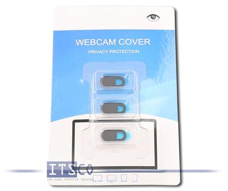 Webcam Abdeckung mit Schieber für Laptops und Smartphones