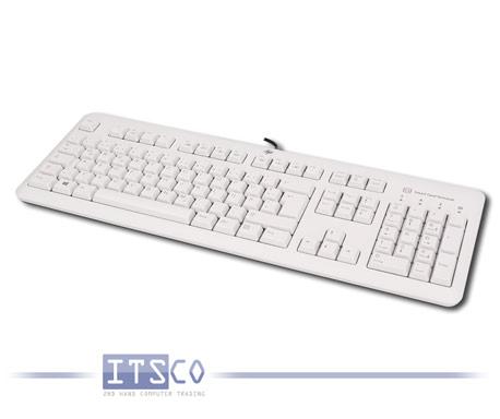 Tastatur HP KUS1206 Grau USB Anschluss Smart Card Terminal