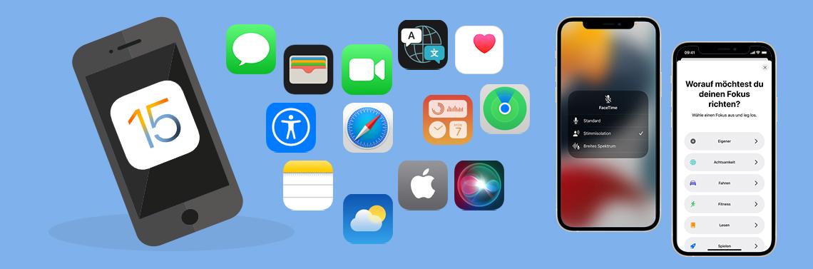 Update auf iOS 15