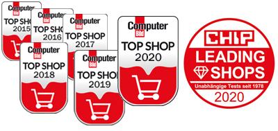 Auszeichnungen von Computerbild und Chip