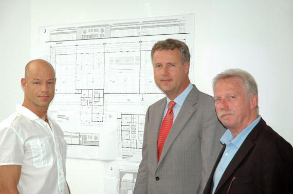 Buergermeister Bohling zu Besuch bei ITSCO