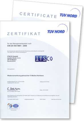 Qualitätsmanagementsystem QMS nach DIN ES ISO 9001:2008