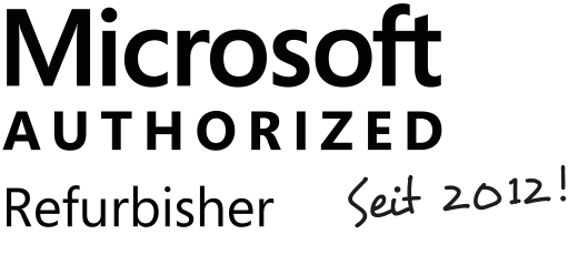 Offizieller Microsoft Authorized Refurbisher!