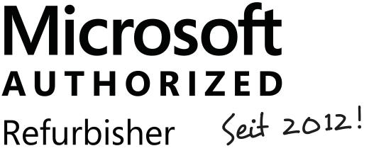 Offizieller Microsoft Authorized Refurbisher!