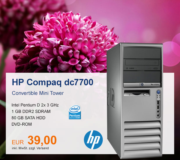 HP Compaq Business Tower dc7700