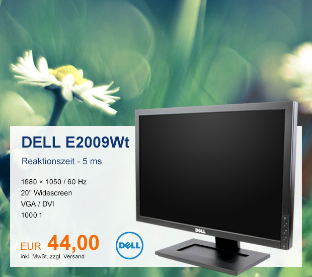 Dell Monitor E2009WT
