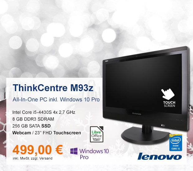 All-In-One PC Lenovo ThinkCentre M93z