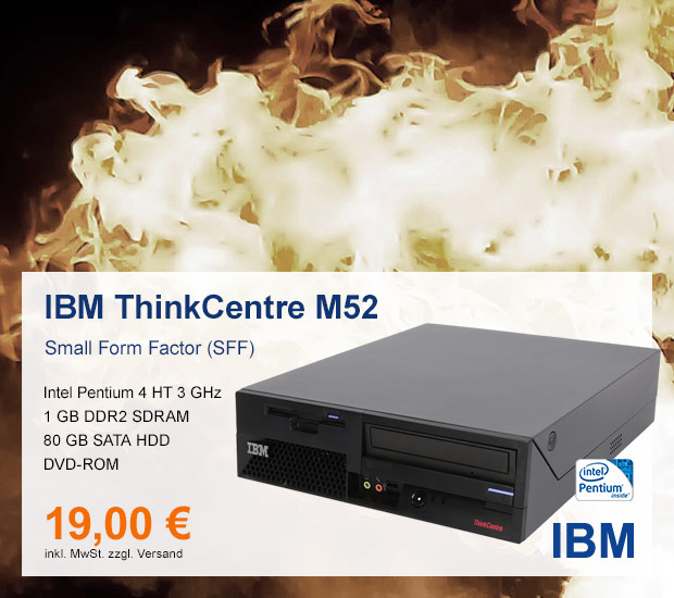 IBM ThinkCentre M52