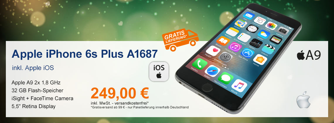Apple iPhone 6s Plus A1687