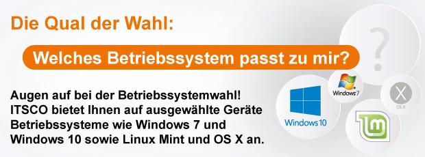Welches Betriebssystem passt zu mir?