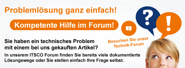Das ITSCO Forum: Hier finden Sie kompetente Hilfe